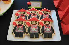 Ninjago Stone Warrior Cookies / Stone Army Cookies