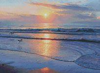 Artecy Cross Stitch. Cross Stitch Patterns of Landscapes to print online.