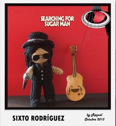 Not exactly a musical instrument but... #amigurumi sixto rodríguez