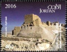 Stamp: Kerak castle (Jordan) (Ancient castles in Jordan) Mi:JO 2339