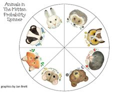 FREE from Swamp Frog First Graders: Animals in The Mitten Probability Activities