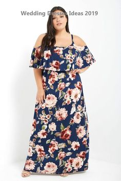 11 Trending Flower Dresses for the Spring - woman plus size fashion Navy Floral Maxi Dress, Colorblock Dress, Belted Dress, Plus Size Maxi Dresses, Plus Size Outfits, Casual Dresses, Dresses With Sleeves, Fashion Dresses, Curvy Girl Fashion