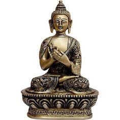 Little Buddha Meditating Brass Statue Sculpture by ShalinIndia, http://www.amazon.com/dp/B0013HBEDG/ref=cm_sw_r_pi_dp_QDegsb00P1FXP