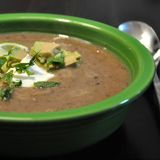 A Reader Recipe: Black Bean and Sweet Potato Soup