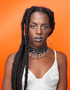 Afropunk natural hair #Braidz