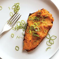 Twice-Roasted Sweet Potatoes with Chipotle by Cooking Light