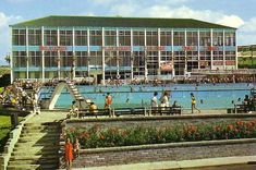 Watch the reels of old film footage which show Barry Island's Butlins camp in its heyday - Wales Online Butlins Holidays, Nostalgic Images, My Childhood Memories, 1980s Childhood, European Destination, Hospitality Design, South Wales, The Guardian, Old Photos