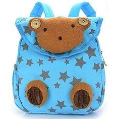 2017 Newest Lovely Rabbit Dot Bear Baby Backpack Mini Schoolbag Children Shoulder Bag Gifts Kindergarten Kids Book Bags Rucksack Baby School Bags, Cheap School Bags, School Bags For Boys, Baby Harness, Kindergarten Gifts, Baby Backpack, Animal Bag, Super Cute Animals, Baby Kind