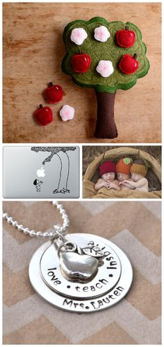 {Apples Galore} Adorable Etsy Finds