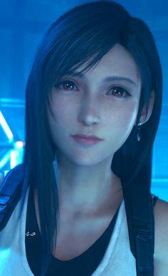 Tifa Final Fantasy, Final Fantasy Girls, Final Fantasy Cloud, Final Fantasy Artwork, Final Fantasy Characters, Final Fantasy Vii Remake, Fantasy Series, Female Characters, Cloud And Tifa