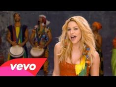 Shakira Waka Waka (This Time for Africa) - (The Official 2010 FIFA anthem)