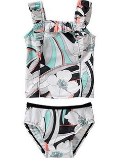 Hibiscus-Print Tankini Sets for Baby | Old Navy $7.99