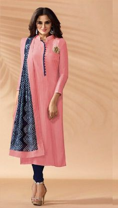 Fashion Collection Best Women Ethnic Wear only at Dress Indian Style, Indian Dresses, Indian Wear, Half Sleeves, Types Of Sleeves, Plain Kurti, Georgette Sarees, Indian Designer Wear, Indian Sarees