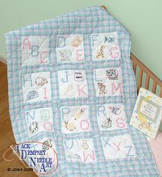Quilt Squares - Embroidery Patterns & Kits - 123Stitch.com