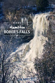 IveBeenBit.ca   Hiking Hamilton's Borer's Falls   Canada, Ontario, Waterfalls, City of Waterfalls, Hamilton Halton Brant, Travel, Hiking, Adventure   #Canada #Ontario #Waterfalls #Hamilton #HamiltonHaltonBrant #Travel #Hiking #Adventure  