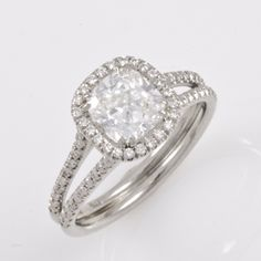 May Lead to Star Gazing: Cushion Cut Solitaire Diamond Engagement Ring by Doron Isaak