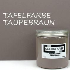 COLORFARBE PRO Tafelfarbe Taupebraun