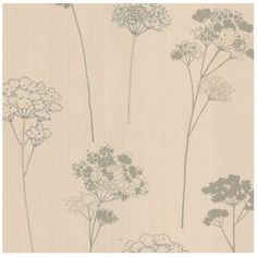Dulux Meadowsweet Wallpaper - Vanilla from Homebase.co.uk
