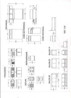 Resultado de imagen para tabla de medidas de muebles