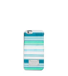 Striped Phone Case For iPhone 6 by Michael Kors