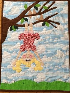 Quilting#applique#patchwork#I made this #naughtygirl#freedom#çocuk olmak güzeldir....
