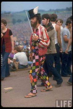 In the Music Festival of Woodstock Was Arguably the Culmination of the Hippie Era. Life Magazine Was There And Photographed the Event.
