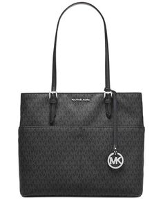 45cee24f0de8 Michael Kors Signature Bedford Large Pocket Tote & Reviews - Handbags &  Accessories - Macy's