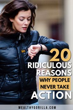 These are the top 20 most ridiculous reasons why people never take action on their dreams. Don't let these reasons get in the way of your success. The Success Club, What Is Success, Stress Relief Quotes, Stress Quotes, Inspirational Quotes Pictures, Motivational Quotes For Life, Rich Quotes, Wealth Quotes, Entrepreneur Quotes
