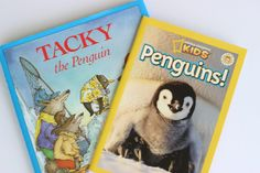 January Step by Step: Close reads, freebies, and more! Check out these close read books about Penguins!
