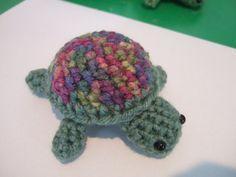 Crochet Turtle by JoannesLovies on Etsy