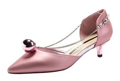 TandMates Women's Lovely Pointed-Toe Bead Kitten Dress Sandals ** Details can be found by clicking on the image.