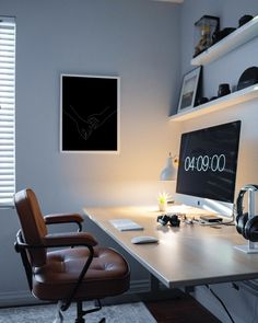 silver iMac I've been on a hunt for the perfect home office setup and I think it's slowly starting to […] Home Office Setup, Home Office Organization, Home Office Space, Home Office Design, Office Workspace, Organization Ideas, Cool Teen Bedrooms, Teen Bedroom Designs, Living Room Modern