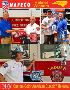 Here are the photos from the South Atlantic Fire Rescue Expo (SAFRE) in Raleigh, North Carolina, August 13-15, 2015. (www.carolinafirejournal.com) Thank you so much to everyone who came out to visit us. The winners of our LION Custom Color American Classic Helmets are: NC: Assistant Chief Brian Evans from High Point Fire Department NCS: Assistant Chief Murrey West from Lumberton Fire Department Duke: President Mike David from Avon Volunteer Fire Department