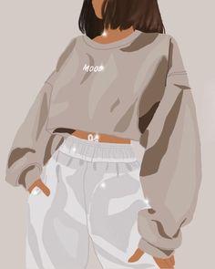 Illustration Mode, Portrait Illustration, Illustrations, New Foto, Cover Wattpad, Abstract Face Art, Black Girl Art, Digital Art Girl, Cartoon Art Styles