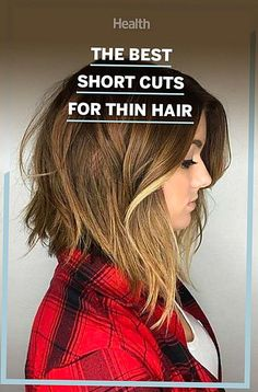 These short haircuts for women with thin hair will add texture and volume. Haircuts For Thin Fine Hair, Thin Hair Cuts, Short Thin Hair, Short Hair Cuts For Women, Short Hair Styles, Short Cuts, Cuts For Thinning Hair, Cool Haircuts For Women, Hairstyles Over 50