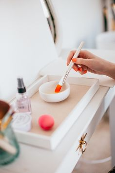 3 Ways To Clean Your Makeup Brushes & Sponges | theglitterguide.com