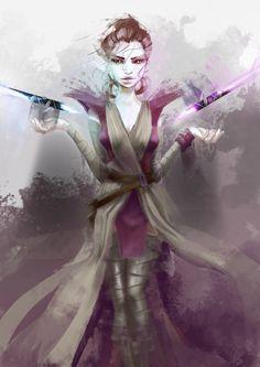 Rey Jedi Vision by CleverBoi.deviantart.com on @DeviantArt