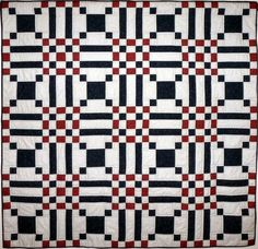 Checkered Path Quilt Pattern is great for a confident beginner.