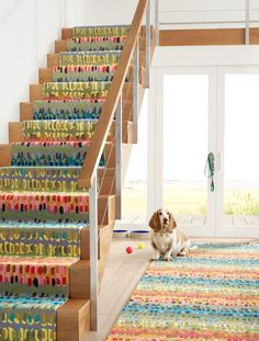 Enhance your stairs with stair runners from Annie Selke. In a wide range of colors, patterns, and styles, these stair rugs are a fantastic choice for your home. Herringbone Rug, Dash And Albert, Painted Stairs, Polypropylene Rugs, Stair Rugs, Pillow Sale, Rug Sale, Paint Chips, Custom Rugs