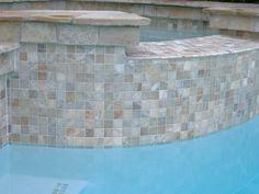 Lightstreams Glass Pool Tile   Celadon Green   Courtyards & Pools ...