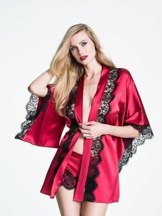 Self-Conscious Women Kimono Satin Bridesmaid Bath Robe Pajamas Gown Sleepwear Gold Sleepwear Fs Modern Techniques Sleepwear & Robes