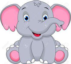 my-caption.com - Gallery: Dibujos Animados De Elefantes Bebes