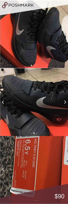 Nike KD Trey 5 III New, only worn once Nike Shoes Athletic Shoes