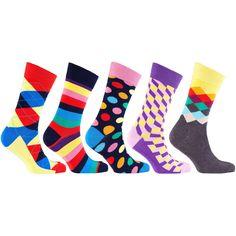 Men's 5-Pair Cool Mix Socks