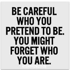 Careful