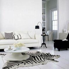 Le tapis z bre en 50 photos avec beaucoup d 39 id es photos for Canape zebre