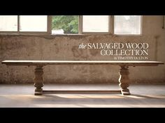 Salvaged Wood Beam Collection - Salvaged Natural | RH