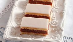 Recept, ktorý musí ovládať každá gazdinka: Domáce punčové rezy | DobreJedlo.sk Sweet Desserts, Sweet Recipes, Cake Recipes, Czech Recipes, Ethnic Recipes, Vanilla Cake, Tiramisu, Cheesecake, Food And Drink
