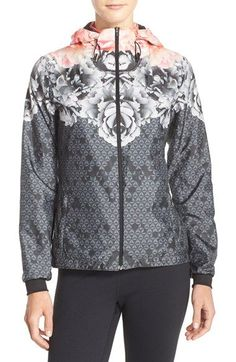 Ted Baker London 'Monorose' Water Resistant Jacket