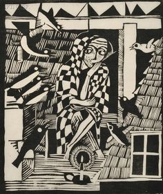 Gerhard Marcks, 1921, woodcut